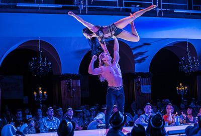 Duo Pospelov - Acrobatic duo - Adagio