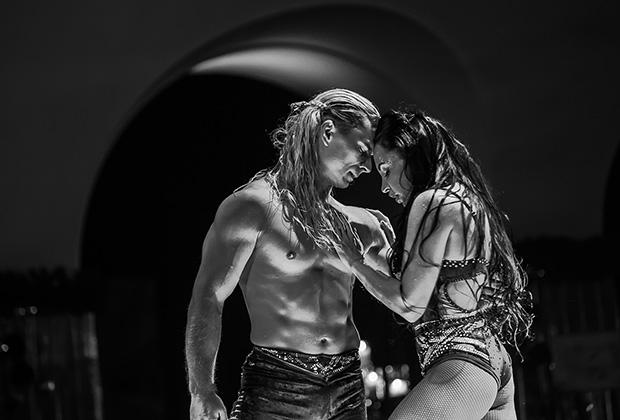 Олег и Юлия Поспеловы -  воздушные гимнасты на полотнах, гимнасты на ремнях, акробатическая пара - адажио